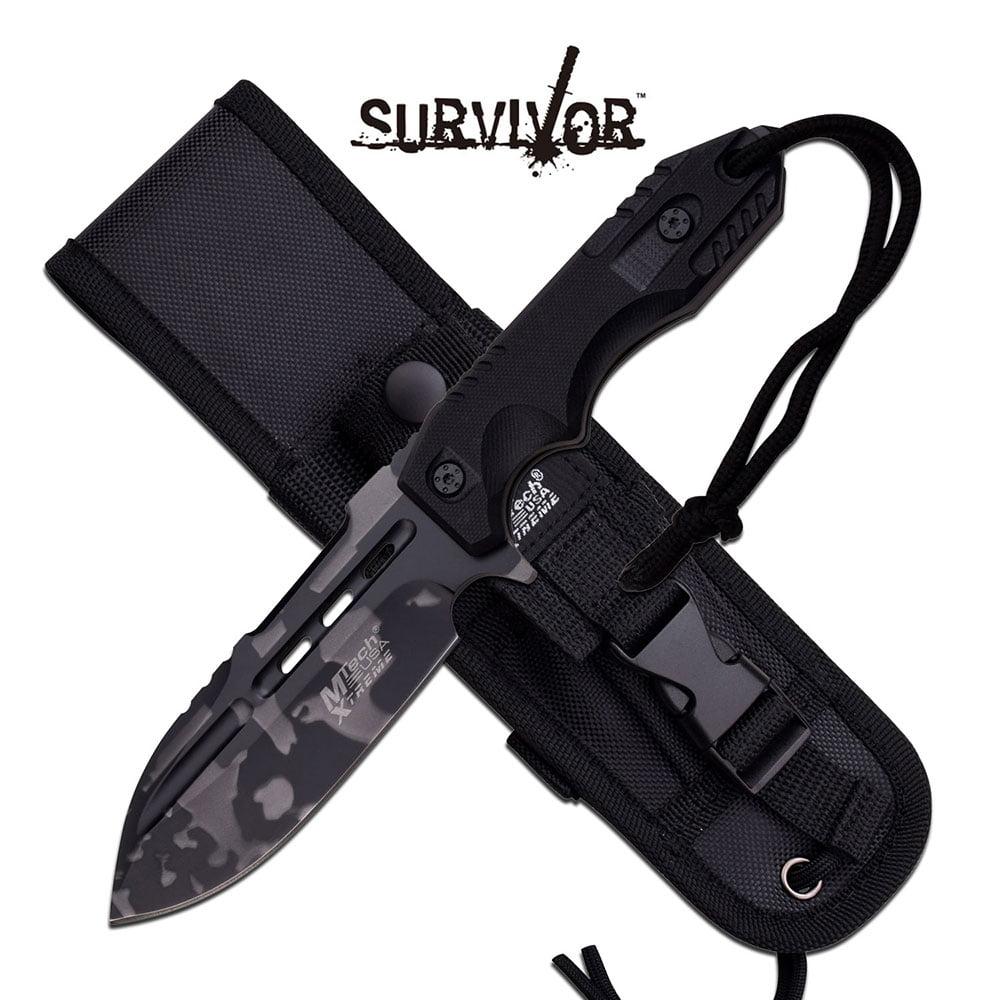 MTech USA Fixed Blade Knife
