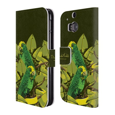 Kahlo Yellow Lab (OFFICIAL FRIDA KAHLO TROPICAL LEATHER BOOK WALLET CASE COVER FOR HTC PHONES 1)