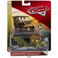Disney/Pixar Cars Sarge with Cannon Die-cast Vehicle