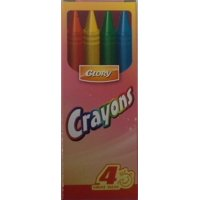 Bulk 4ct. Crayons (50 Units Included)