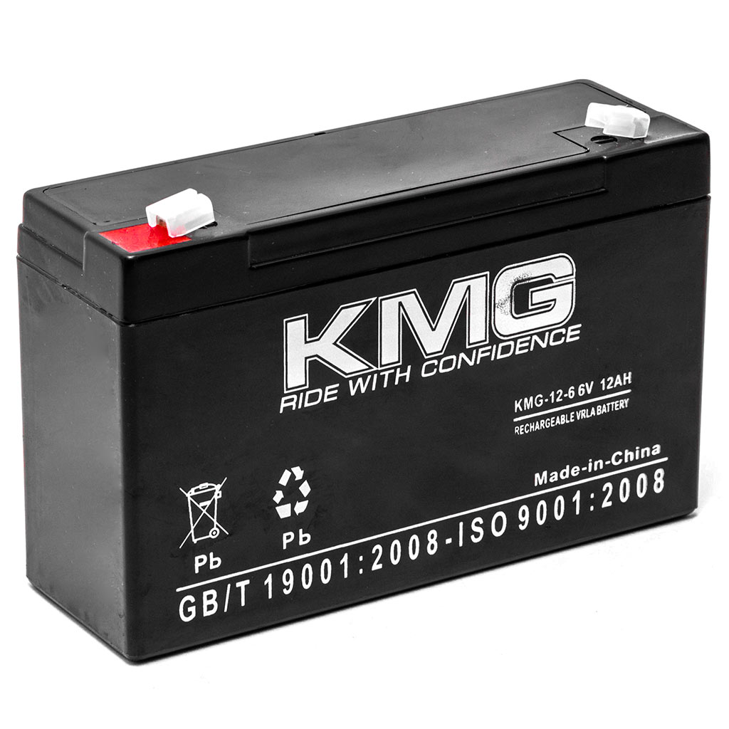 KMG 6V 12Ah Replacement Battery for WATERS INSTRUMENTS 72000 - image 3 de 3