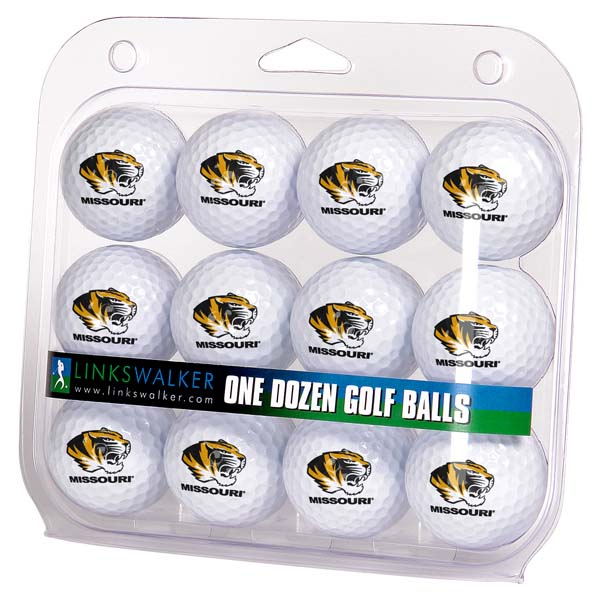 Missouri Dozen Golf Balls