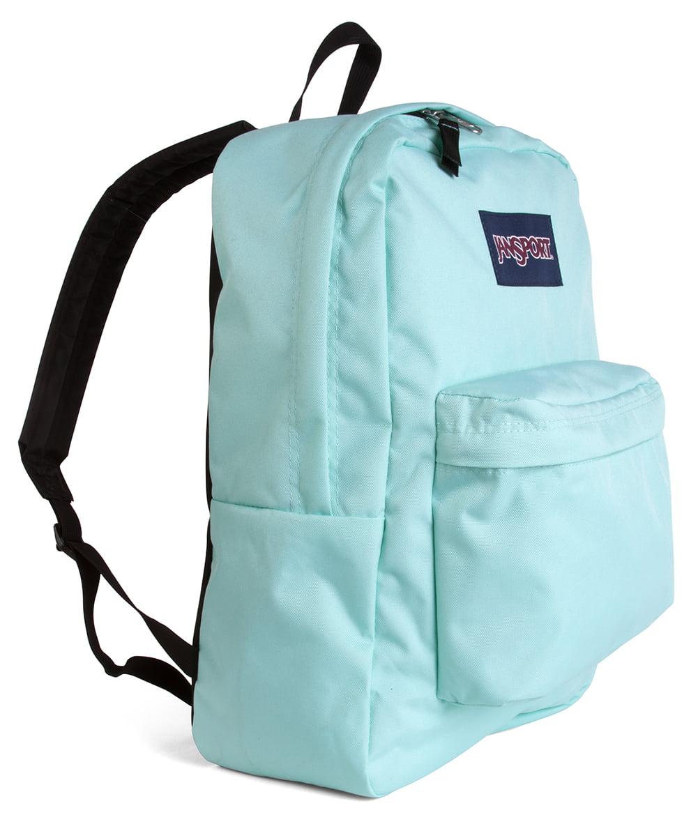 e38b6898402 JanSport - Classic SuperBreak Backpack - Aqua Dash - Walmart.com
