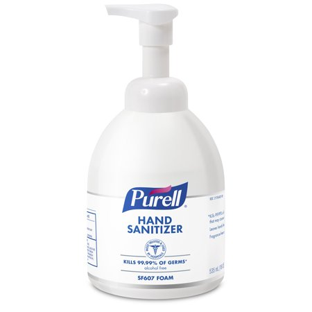 PURELL® Instant Alcohol-Free Foam Hand Sanitizer 18 fl oz, Counter Top Pump Bottle