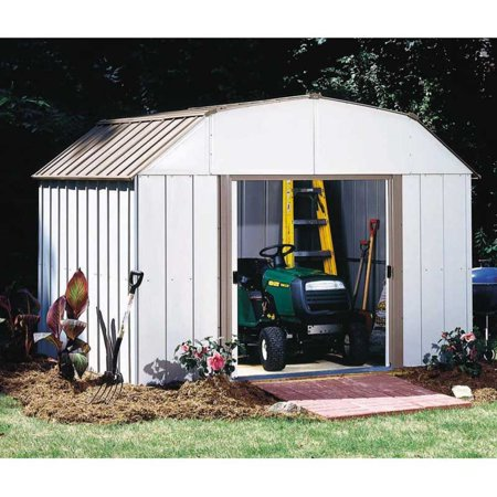 Lexington 10 x 8 ft. Steel Storage Shed Barn Style