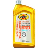 Pennzoil Start/Stop Protection Full Synthetic 5W-30 GF5 (1 Quart, Single Pack)