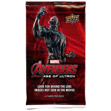 Marvel Avengers Age of Ultron Trading Card Pack](Avengers Cards)