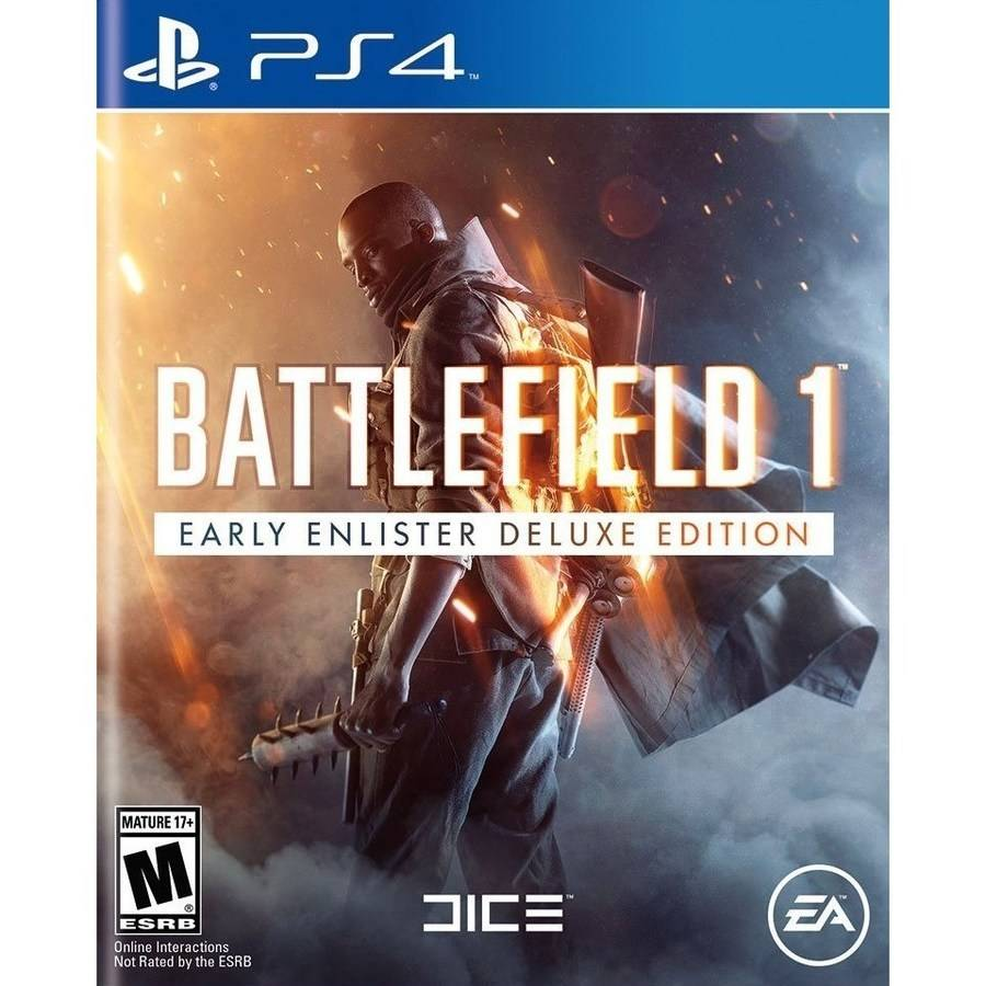 Battlefield 1 Early Enlister Deluxe Edition (Playstation 4) by EA Digital Illusions Creative Entertainment AB (DICE)