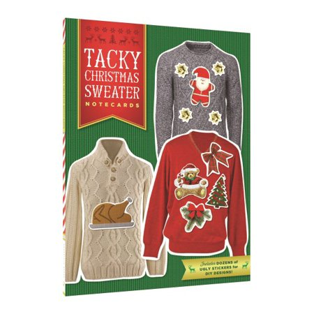 Tacky Christmas Sweater Notecards for $<!---->