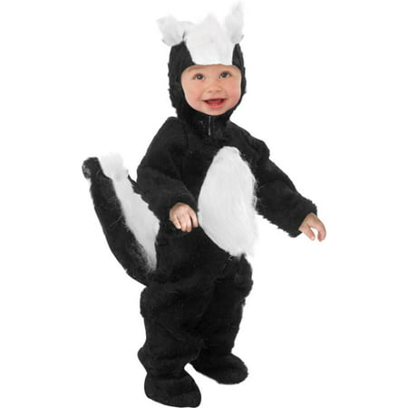 Child Skunk Costume~Medium 8-10 / Black - Child Skunk Costume