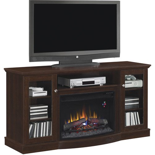 Enjoyable Chimneyfree Media Electric Fireplace For Tvs Up To 65 Brown Espresso Download Free Architecture Designs Scobabritishbridgeorg