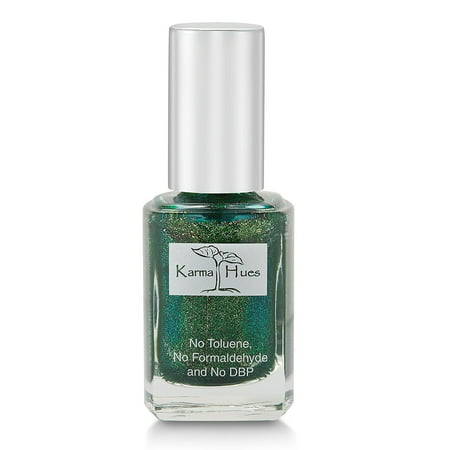 Karma Organic Natural Nail Polish-Non-Toxic Nail Art, Vegan and Cruelty-Free Nail Paint (UNSTOPPABLE) - White And Red Halloween Nails