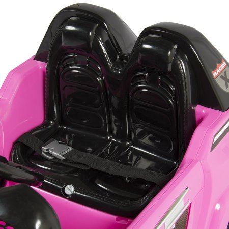 12V MP3 Kids Ride on Truck Car R/c Remote Control, LED Lights AUX and Music Pink - image 5 of 7
