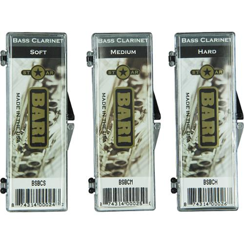 Bari Star Bass Clarinet Reed Medium Soft by