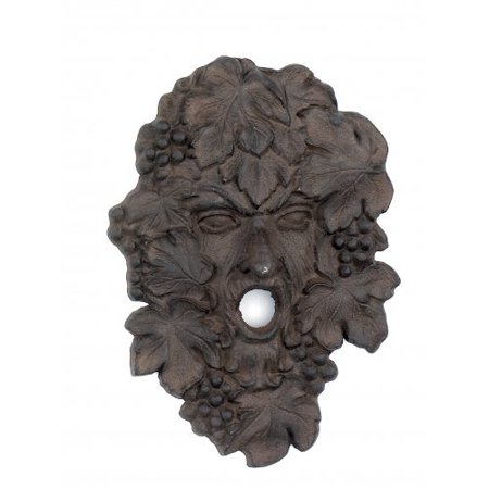 Iron Hanging Grapes Wine God Wall Decor ~ Garden Plaque - Walmart.com