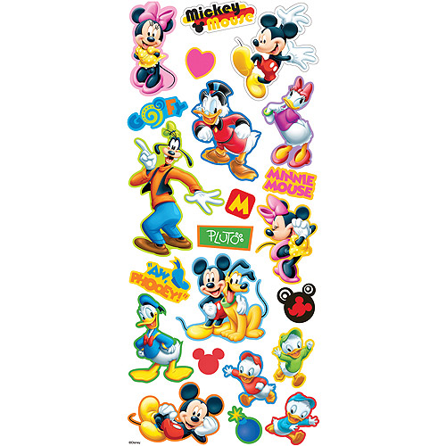Disney Layered Stickers, Mickey and Friends