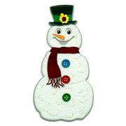 Paper Wizard Die-Cut-Snowman