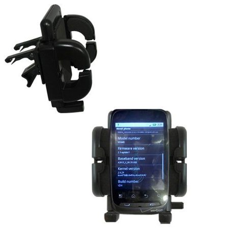 Gomadic Air Vent Clip Based Cradle Holder Car   Auto Mount Suitable For The Motorola Ciena   Lifetime Warranty