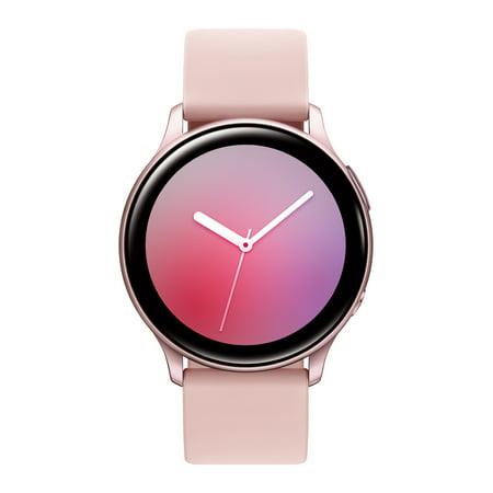 SAMSUNG Galaxy Watch Active 2 Aluminum Smart Watch BT (40mm) - Pink Gold - SM-R830NZDAXAR