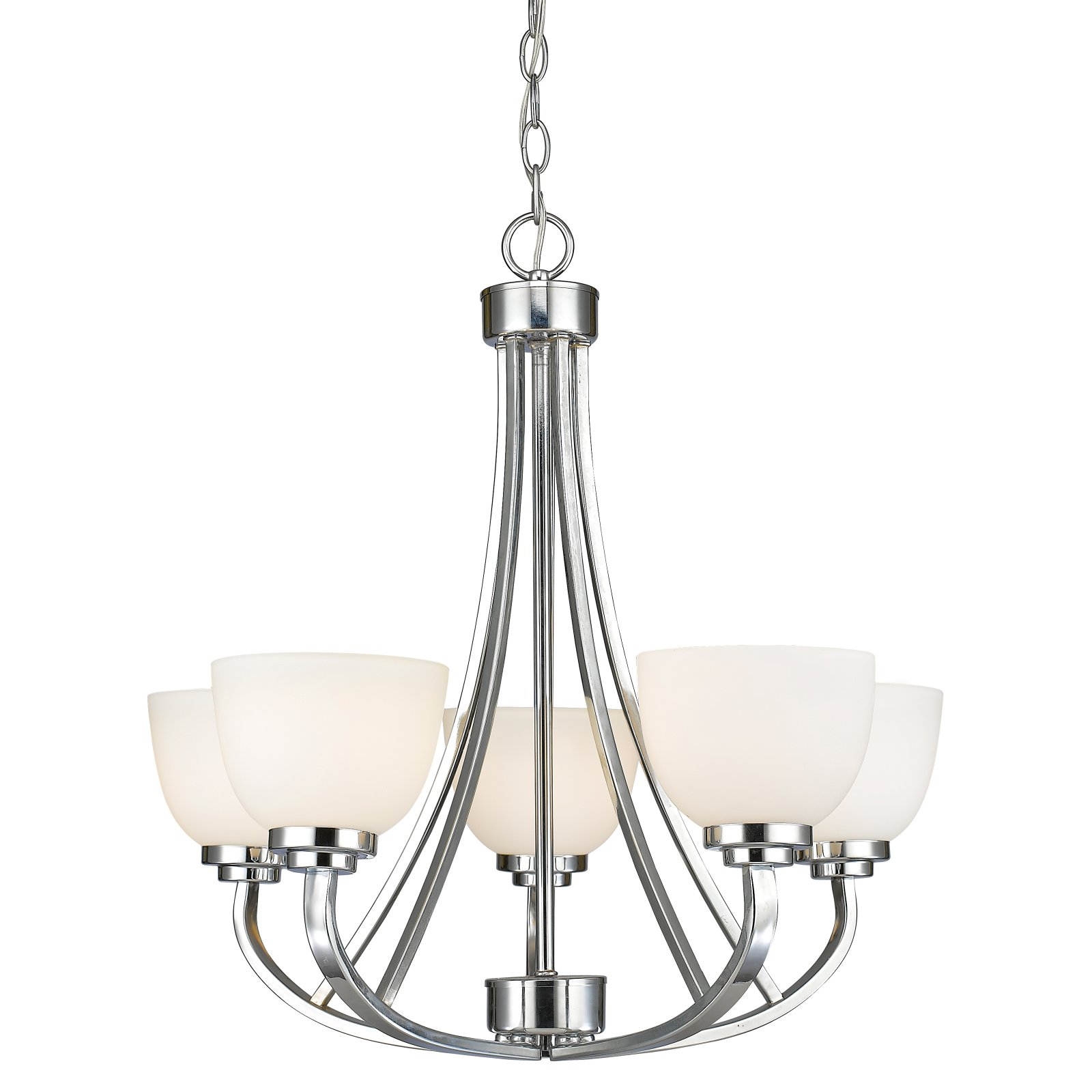 Z-Lite Ashton 5-Light Chandelier, Bronze by Z-Lite