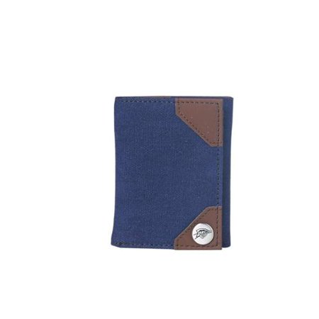Oklahoma City Thunder Official NBA 9 inch  x 4.5 inch  x .5 inch  Park Tri-fold Wallet by Concept One