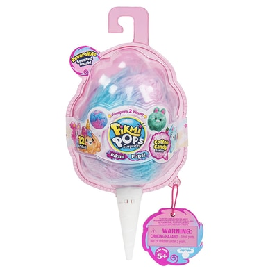 Pikmi Pops Surprise! Pikmi Flips Cotton Candy Series (Color may Vary)