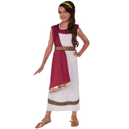 Ruby Greek Goddess Child Costume (Medium)