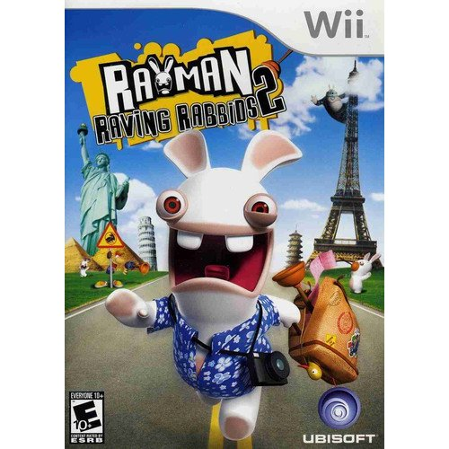Rayman: Raving Rabbids 2 (Wii) by Ubisoft