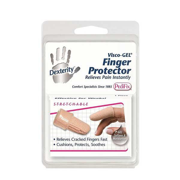 Pedifix Visco-GEL Fabric-Covered Finger Protector-XL