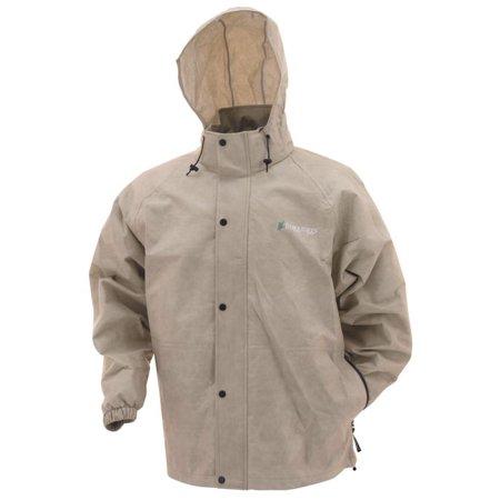 Oak Rail - Frogg Toggs Pro Action Rain Jacket Tan XL  PA63123-04-XL