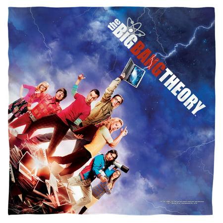 The Big Bang Theory Sitcom Series Tv Show Cbs Poster Bandana