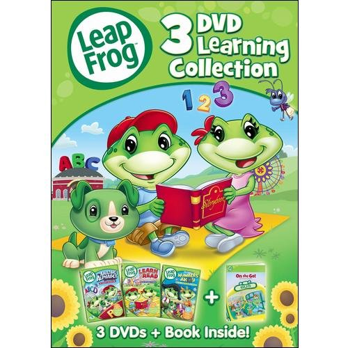 Leapfrog: 3-Disc Learning Collection (With Book) (Full Frame)