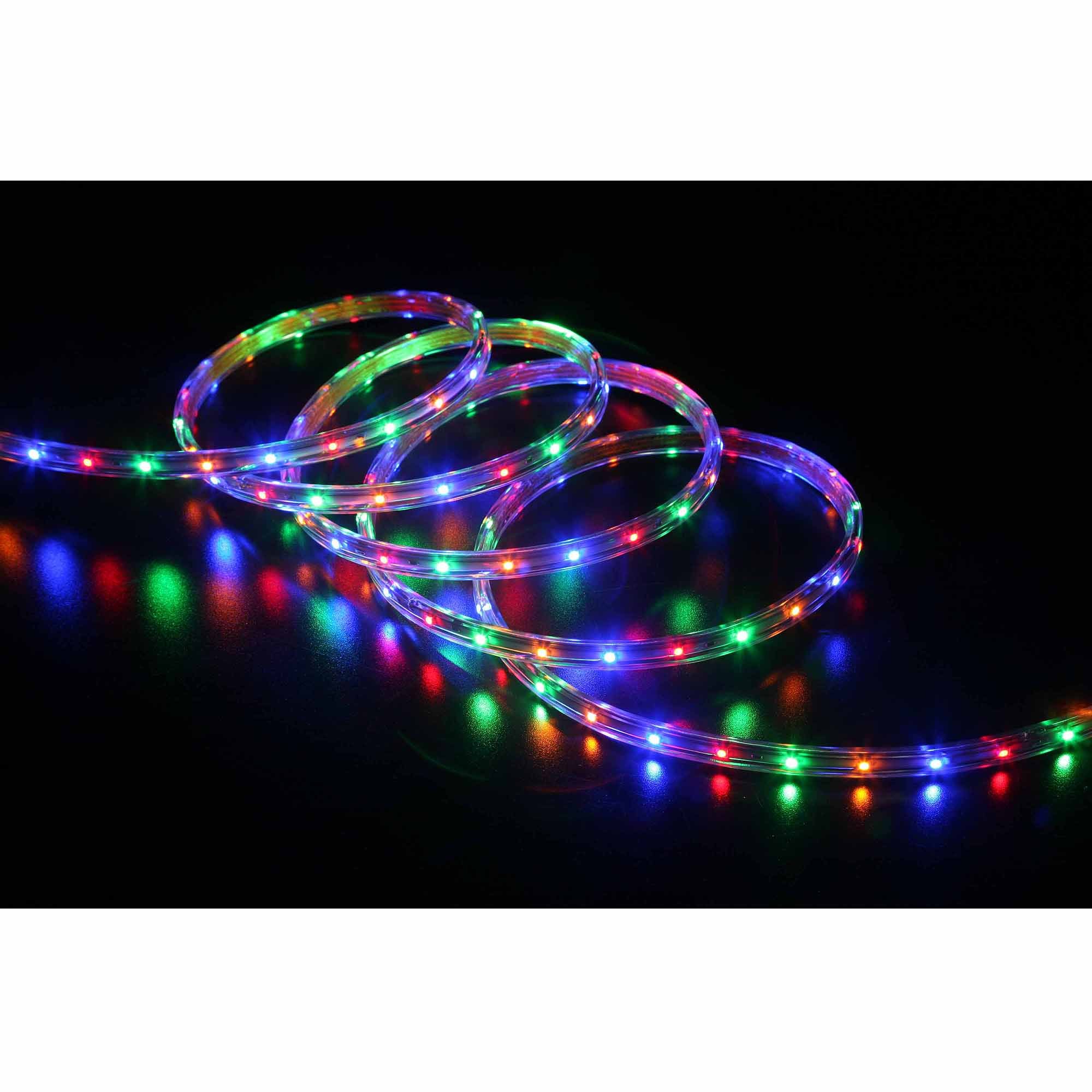 white blue ww silhouette shooting street with lighting led rope star fl light