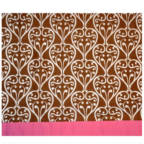 Bacati Damask 58'' Curtain Valance