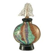 Dale Tiffany Crackle Perfume Bottle