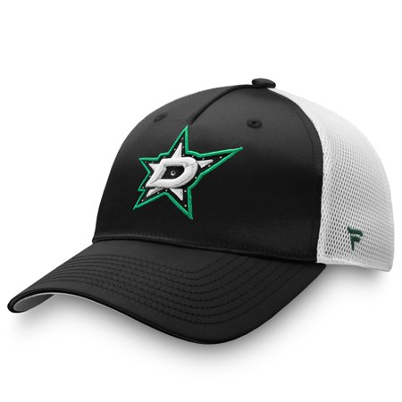 Dallas Stars Fanatics Branded Women's Exclusive Trucker Snapback Hat - Black - OSFA