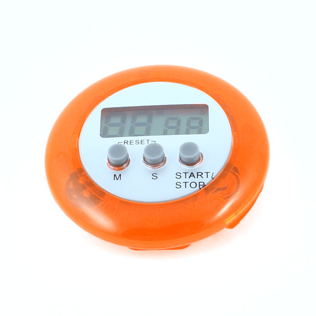 Unique Bargains Home Kitchen LCD Digital Minute Second Button Count Down up Clip Timer Clock