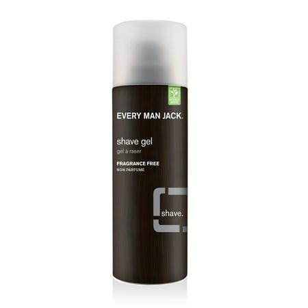 Every Man Jack Shave Gel Sensitive Skin Fragrance Free, 7.0 (Best Shaving Gel For Sensitive Skin)