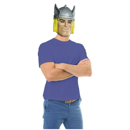 Ben Cooper Thor Mask Halloween Costume Accessory