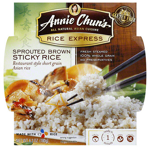Annie Chun's Brown Sticky Rice, 6.3 oz (Pack of 6) by ANNIE CHUN'S