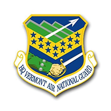 MAGNET US Air Force Headquarters Vermont Air National Guard Decal Magnetic Sticker 5.5