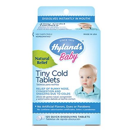 Hylands tiny cold tablets