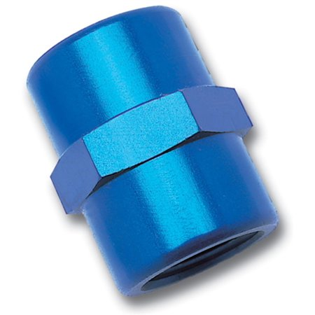 Russell Performance 1/2in Female Pipe Coupler (Blue) ()