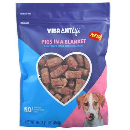 vibrant life pigs in a blanket dog treats 16 oz. Black Bedroom Furniture Sets. Home Design Ideas