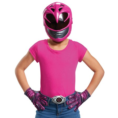 Pink Ranger 2017 Accessory Kit Girls Child Halloween Costume, One Size - Bangkok Halloween 2017