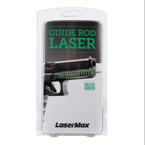 LaserMax Guide Rod Laser Glock 19 Generation 4 - Green LMS-G4-19G