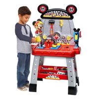 Deals on Disney Junior Mickey & the Roadster Racers Pit Crew Workbench
