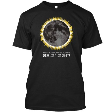 2017 Total Solar Eclipse Hanes Tagless Tee T Shirt