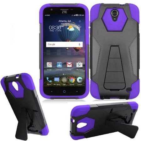 timeless design 840a4 11fad Phone Case for Straight Talk ZTE ZMAX-Champ 4G LTE, ZTE ZMAX-GRAND LTE /  ZTE Avid 916 / ZTE Grand X 3 / Boost ZTE Warp 7 4g LTE Rugged Cover ( Wide  ...