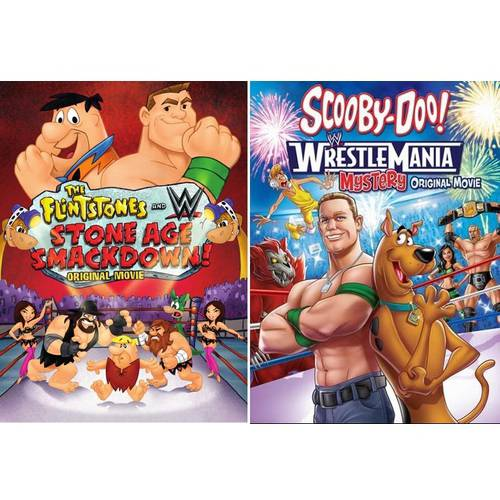 Scooby Doo! Wrestlemania   Flintstones & WWE: Stone Age Smackdown (Walmart Exclusive) (Widescreen, WALMART... by
